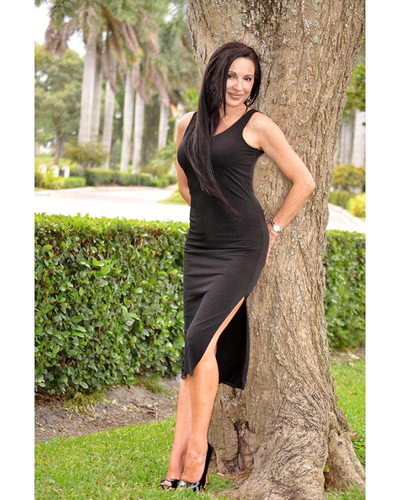 Little Black Dress Queen Angelina Jolie