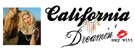 California Dreaming Blog by Amy Witt