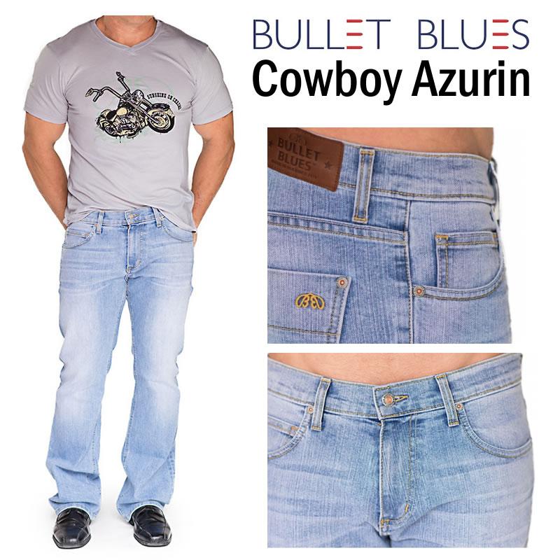 Bullet Blues Cowboy Azurin Boot Cut Jeans