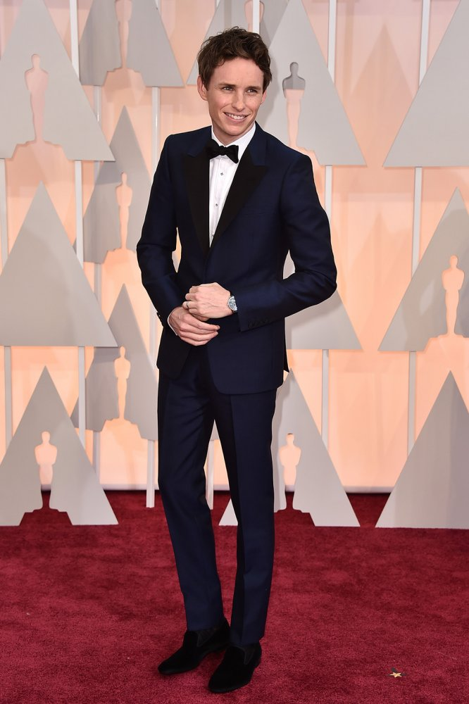 Eddie Redmayne The Oscars 2015 Best Actor