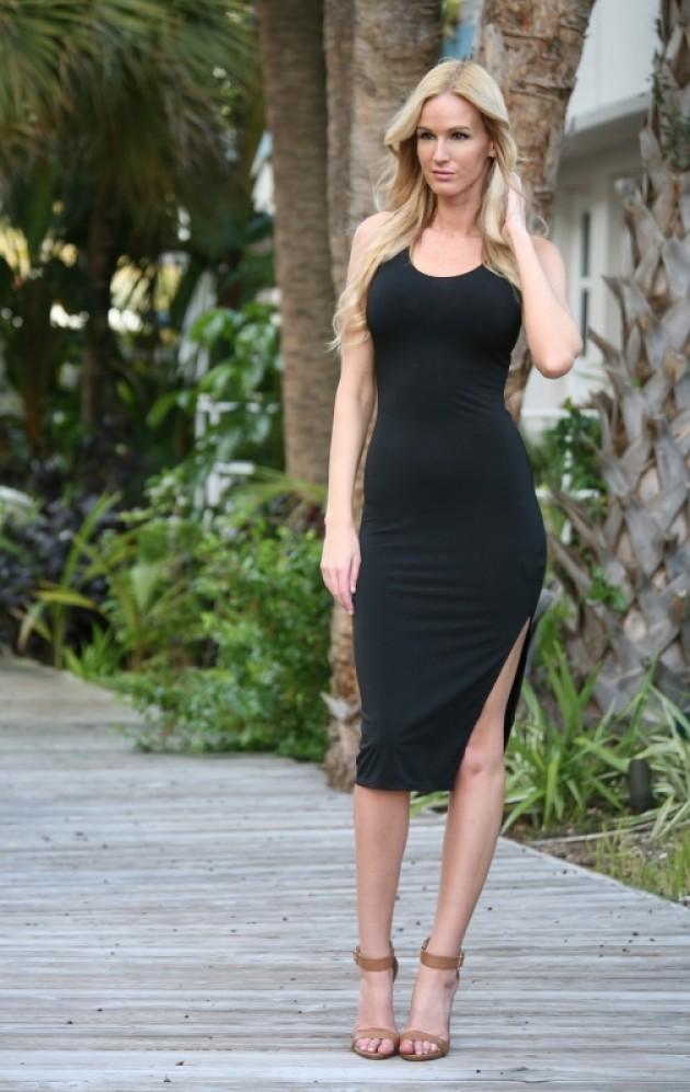 Bullet Blues Mathilde Little Black Dress Made in USA