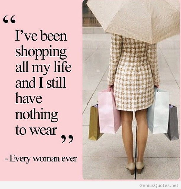Nothing to Wear Quote
