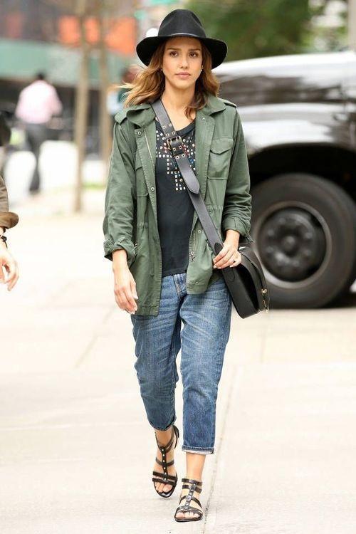 Boyfriend Jeans Fashion Looks 2019 - StyleFavourite.com