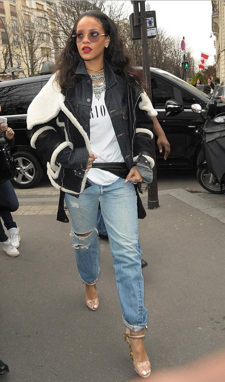 Bullet Blues Style Crush Rihanna Boyfriend Jean Queen