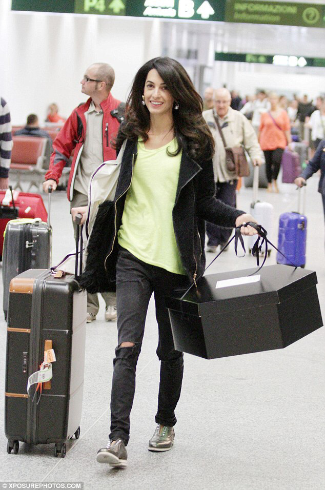 Amal Clooney Bullet Blues Spring Style Crush