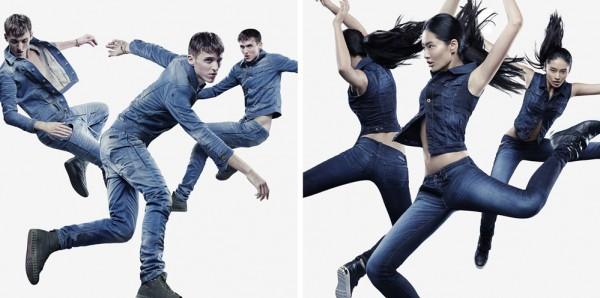 Diesel Polyester Jeans - Bullet Blues