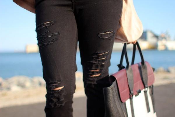 Frame Polyester Jeans - Bullet Blues