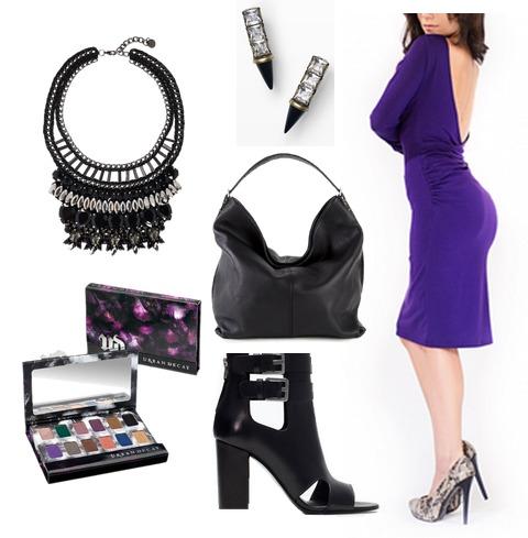 janel-parrish-purple-dress-outfit