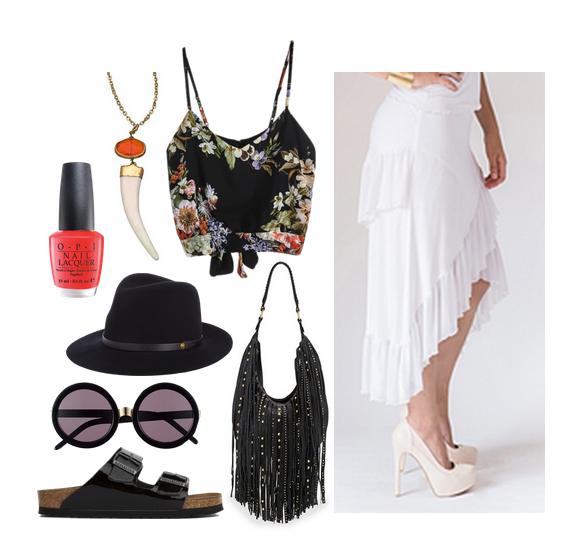 vanessa hudgens white skirt