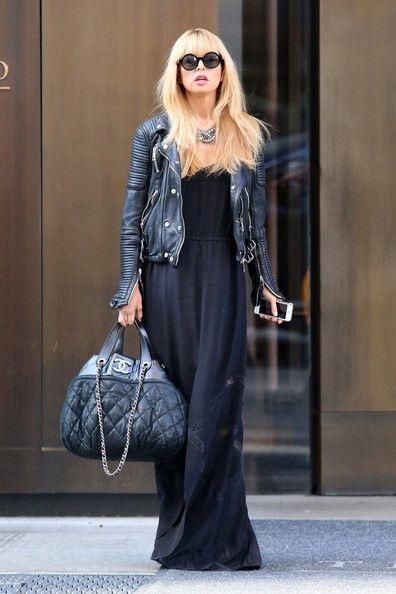 Bullet Blues Style Crush Rachel Zoe Black Maxi Dress Queen