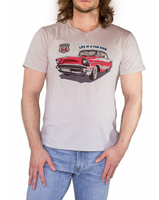 Bullet Blues T Shirt Life is a fun ride - 100% American made