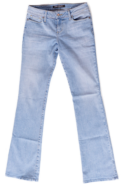 Bullet Blues Bombshell Bleu Papillon - Cowgirl Boot Cut Jeans Made in USA