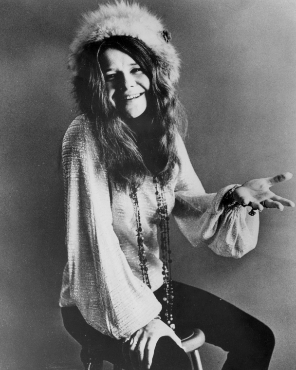 Janis Joplin - Black jeans (#BulletBlues)