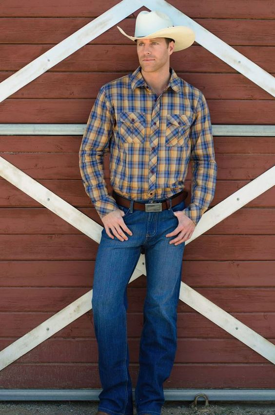 southern style outfit inspiration  american denim  cowboys