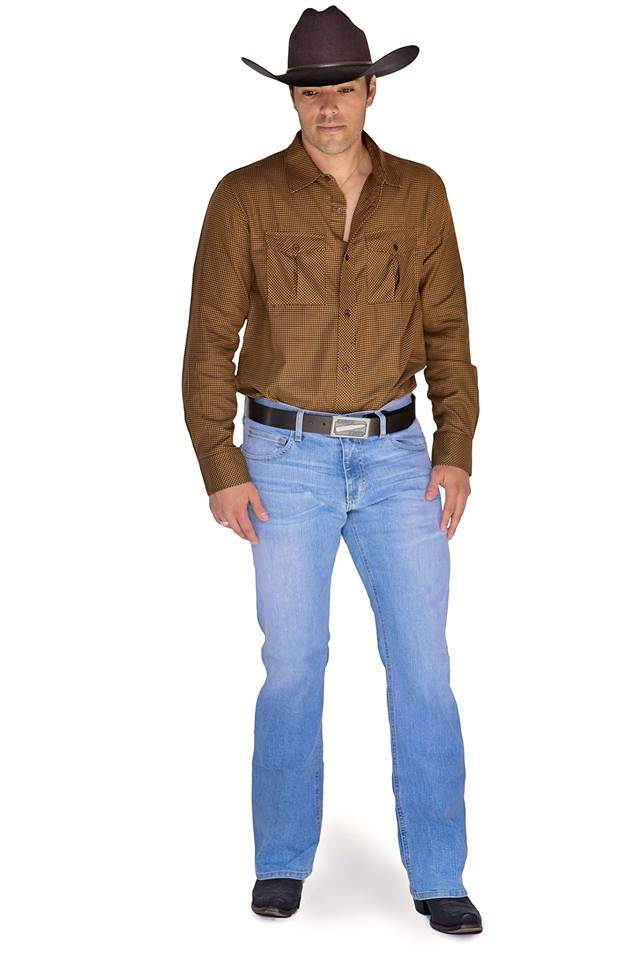 Bullet Blues Denim Spotlight Cowboy American Made Jeans