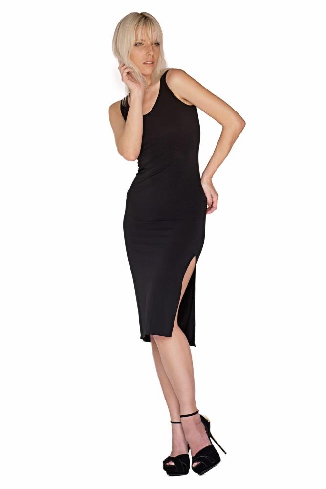 Bullet Blues Mathilde Sleeveless Little Black Dress - Made in USA