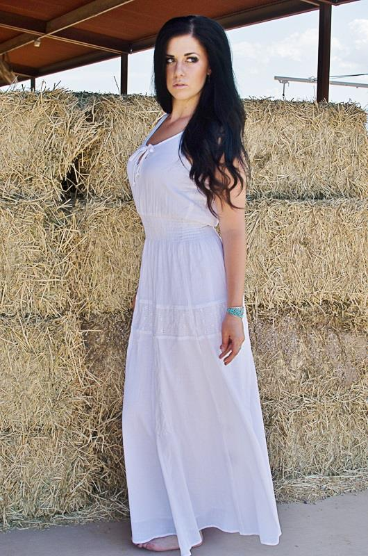 Bullet Blues Clothilde Maxi Dress - Made in USA - Cute Valentine's Dresses