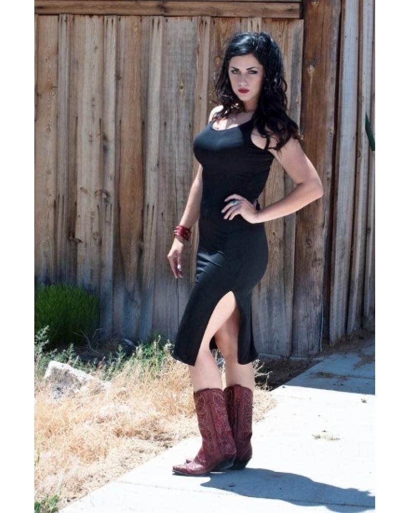 Bullet Blues Mathilde Designer Little Black Dress - Made in USA