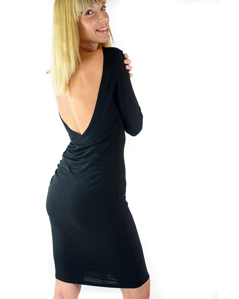 """Made in USA Halloween Guide - Bullet Blues black dress made in America """"Cecile"""""""