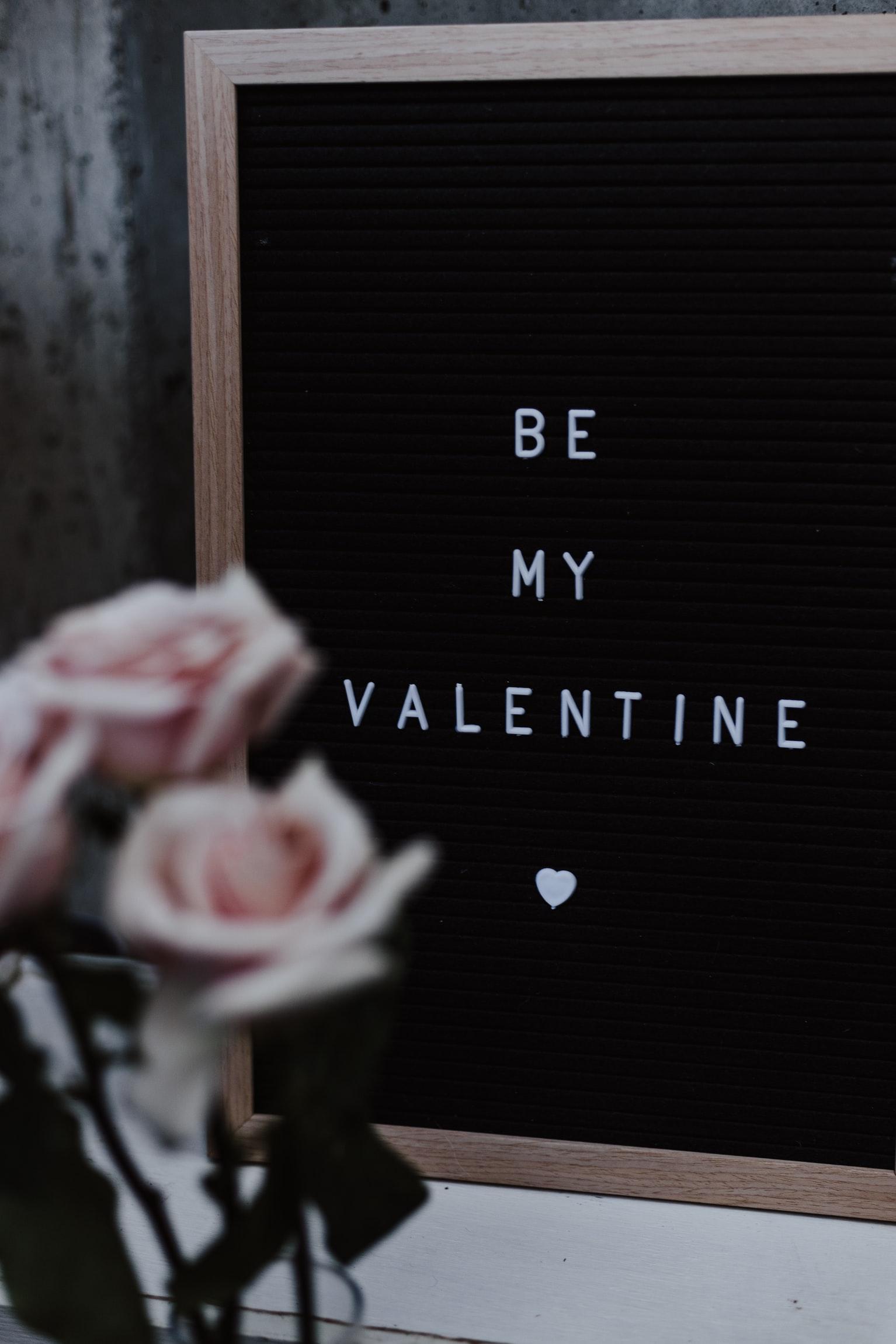 Be My Valentine - Image by @priscilladupreez   Unsplash