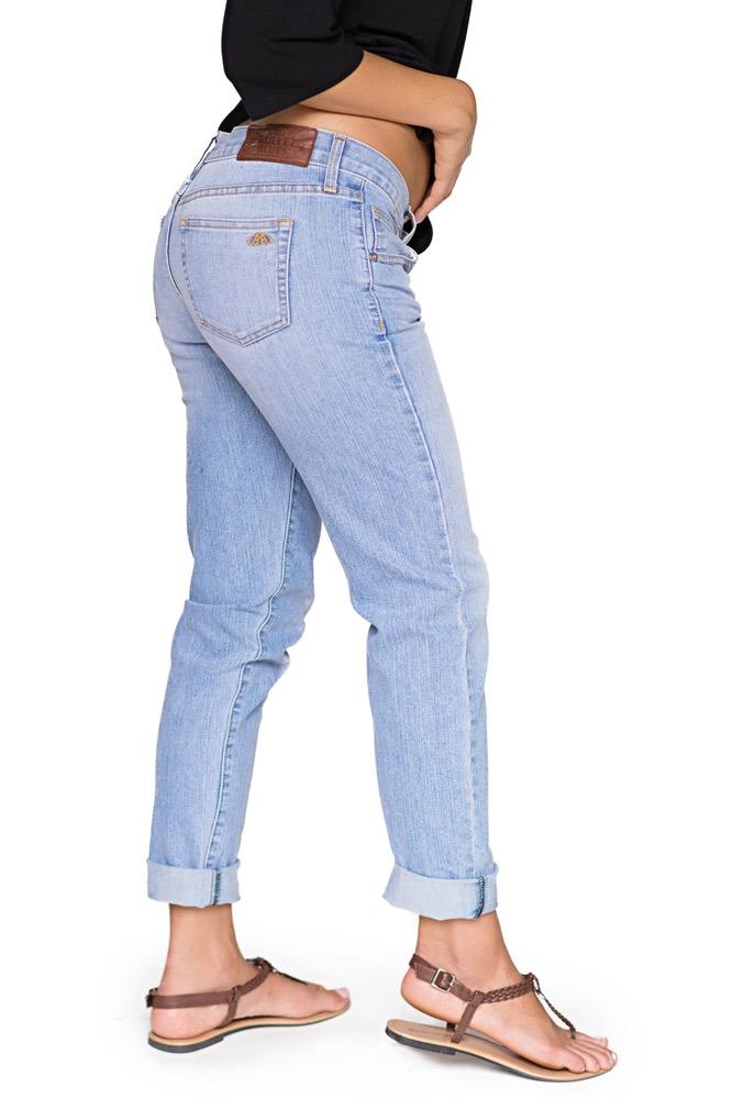 Bullet Blues 'Le Copain' Boyfriend Denim Jeans -  Made in USA - New York Street Fashion 2020