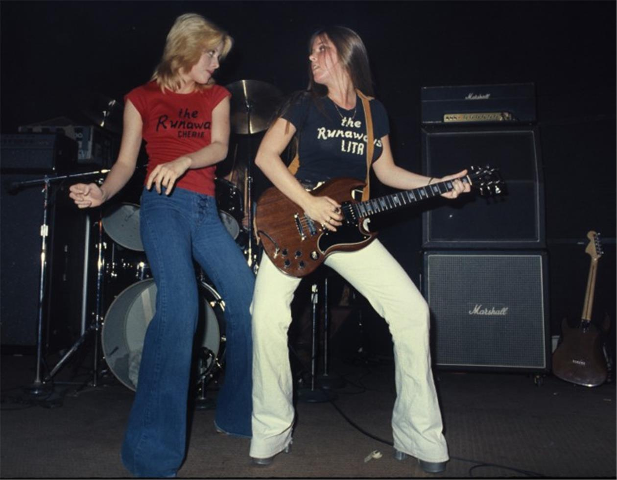 Lita Ford The Runaways 1970s Style