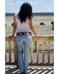 Bullet Blues Western Look: American Made Bombshell Cowgirl Jeans