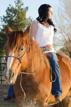Cowgirl Style Inspiration Featuring Bullet Blues American Made Fashion