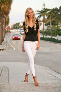 Bullet Blues Rocks American-Made Denim: Best White Jeans for Summer