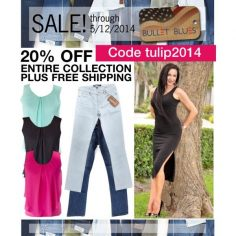Bullet Blues Spring Sale on Fashion Made in America