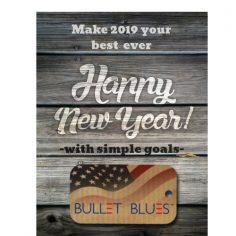 Three simple New Year's resolutions start momentum for 2019 from Bullet Blues