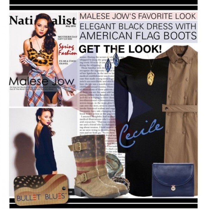 Bullet Blues LOVES Jazmin Whitley's Styling of Malese Jow for Nationalist
