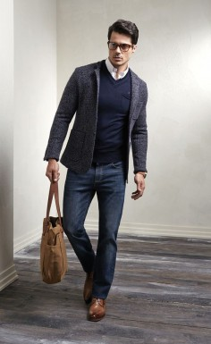 To Get The Smart Casual November Look: Shop the Most Comfortable Jeans Made in USA from Bullet Blues