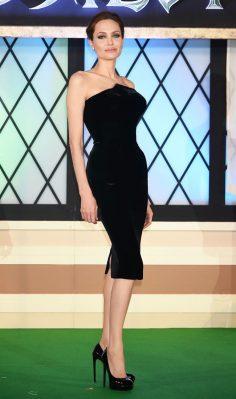 Little Black Dress Queen: Angelina Jolie
