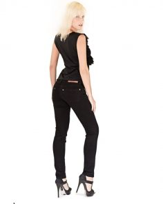 All-Black Look with Bullet Blues American Jeans and Tops