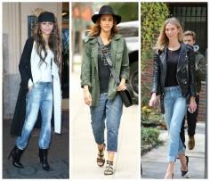 Celeb Style with Bullet Blues: Boyfriend Jeans
