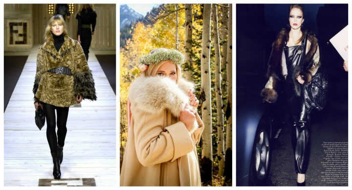 Bullet Blues Trend Update: Faux Fur Coat