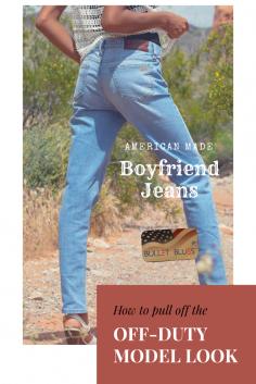 Bullet Blues Summer Staple: American Boyfriend Jeans