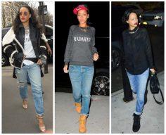 Bullet Blues Style Crush: Rihanna, Boyfriend Jean Queen