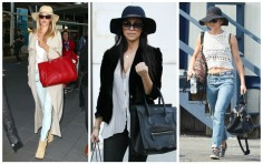 Celeb Style with Bullet Blues: Statement Bag + Sunnies + Hat