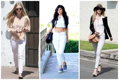Celeb Style with Bullet Blues: White Jeans