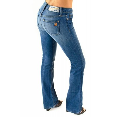 Bullet Blues Babe Jour - Light Blue Boot Cut Jean Made in USA