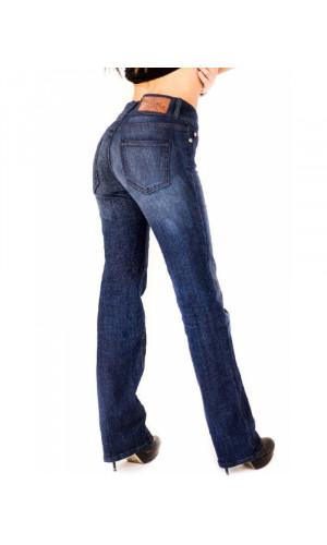 Bullet Blues Elegant Mer High Rise Designer Boot Cut Jeans Made in USA