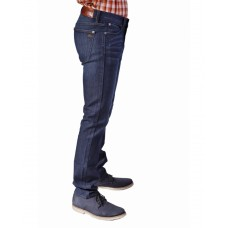 Bullet Blues Uptown Classic Tapered Leg Dark Blue Wash Skinny Jeans for Men - Made in USA
