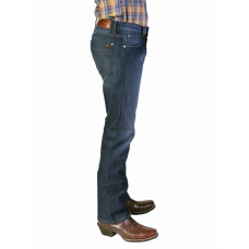 Bullet Blues Comfort Plus Mystic Blue Relaxed Fit Straight Leg Jeans Made in USA