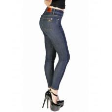 Bullet Blues Lady Slim High-Waist Medium Indigo Wash Skinny Jeans - Made in USA