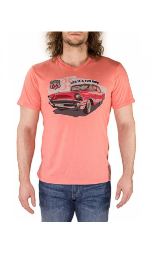Bullet Blues LIFE IS A FUN RIDE Designer T-Shirt Made in USA