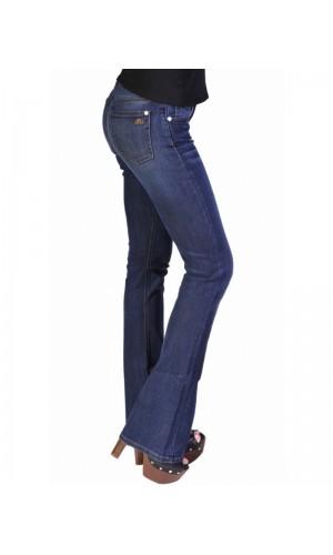 Bullet Blues Modern Femme High-Waist Medium Wash Flare-Leg Jeans – Made in USA