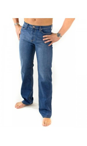 Bullet Blues Nationalist Jour - Light Blue Relaxed Fit Jeans Made in USA