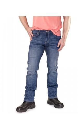Bullet Blues Rebel Cobalt - Medium Blue Tapered Leg Jeans Made in USA